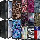 For [Alcatel TCL LX/ 1X Evolve/ IdealXtra] Combat Holster Case Heavy Duty Cover
