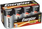 Energizer D Cell Batteries Max Alkaline D Battery Size 8 Count Clear