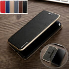For iPhone XS Max XR 8 7 6 Genuine CMAI2 Magnetic Leather Wallet Case Flip Cover