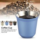 Stainless Steel Coffee Mug Double Wall Insulated Tea Beer Cup Home Camping
