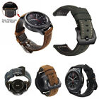Genuine Leather Strap Wrist Band For Samsung Galaxy Watch 46mm 42mm Bracelet image