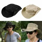 Bucket Hat Boonie Hunting Fishing Outdoor Wide Cap Brim Military Unisex Perfect#