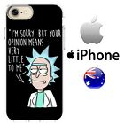 Rick And Morty Case Cover Silicone Funny opionions cocky adult cartoon AU