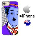 Case Cover Silicone retro abstract art charlie Chaplin classic hollywood