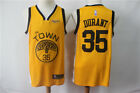 New yellow Golden State Warriors No.35 Kevin Durant Basketball Jersey on eBay
