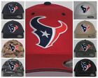 "Houston Texans ""FLEX FIT"" CAP ✨HAT ✨CLASSIC NFL PATCH/LOGO ✨3 SIZES 12 COLOR✨NEW"