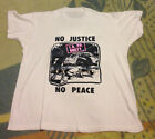 GILDAN t shirt REPRINT vtg 90s LA Riots LAPDGuilty 1992 Los Angeles Rodney King image