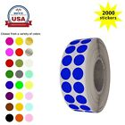 Внешний вид - Round Color Coding 1/4 inch 8mm Dots for Marking Envelope Seals Labels 2000 Pack