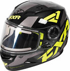 FXR Black/Hi-Vis/Charcoal Youth Nitro Core DOT ECE Snowmobile Helmet Snow 2019