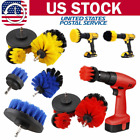 3x Cleaning Drill Brush Set Wall Tile Grout Power Scrubber Bathtub Floor Cleaner