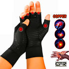 Copper Compression Arthritis Gloves Rheumatoid Hands Joints Support Sleeves OS $10.99 USD on eBay