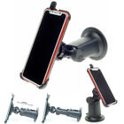 German made car holder and suction dash car mount for Apple iPhone X XR XS Max