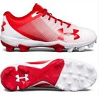 Внешний вид - Boys Under armour baseball cleats red white 1297316-611 brand new with box UA