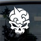 New Orleans Saints Skull Vinyl Car Truck Van Decal Window Sticker White $16.9 USD on eBay