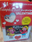 New Vintage Campell's Soup 44 ct. Valentines plus 10 Loose