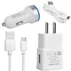For Google Pixel 2 3 XL LG V35 G7 ThinQ Stylo 4 Q8 Wall/Fast Car Charger C Cable