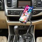 Heavy Duty Cup Holder Phone Mount for Apple iPhone X XS XR Note 9 / 8 All Phones