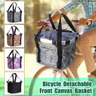 Bicycle Basket Bicycle Aluminum Alloy BikeDetachable  Cycle Front Carrier Bag