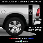 Dodge Ram 1500 2500 3500 Decal Sticker Vinyl Graphic Truck Bed Side Race Stripes
