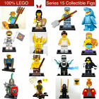 100% Lego Series 15 Collectible Minifigures 71011 U Pick Shark Farmer Animal
