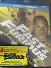 Fast and Furious (Blu-ray Disc) NEW