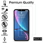 TEMPERED GLASS FILM SCREEN PROTECTOR FOR NEW iPhone XR XS MAX 8 7 6s 5s 2018 2PK <br/> Retail Pack✅UK Seller✅Genuine Glass✅Buy 1 Get 1 Free✅