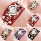 CCQ Women's Crystal Dial Wrist Watch Rhinestone Bracelet Strap Quartz Wristwatch