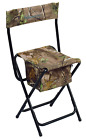 Ameristep High Back Chair, Realtree Xtra Green Seat, Zippered Gear Pouch, Camo