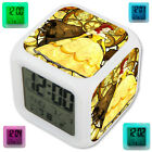 Belle Beauty And The Beast LED Digital Alarm Clock 7 Color Changing Light