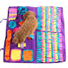 Dog Pet Puzzle Snooping Toys Find Food Training Blanket Cat Mat Sniffing Pad