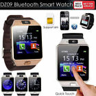 Hot DZ09 Bluetooth Smart Watch Camera SIM Slot For Samsung Android HTC Phone SE