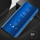 For Xiaomi Redmi Note 8 7 6 Pro 5A 4X Smart Mirror Leather Flip Stand Case Cover