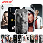 HAMEINUO Hip Hop Rapper Eminem rap cell phone Cover case for iphone X 8 7 6 4
