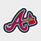 Atlanta Braves sticker for skateboard luggage laptop tumblers car(b) on Ebay