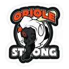 Baltimore Orioles sticker for skateboard luggage laptop tumblers car(a) on Ebay