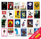 Best Musical Theatre Posters, A3 A4 Size Glossy Art Print, Hanging Wall Decor £2.99 GBP on eBay