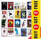 Best Musical Theatre Posters, A3 A4 Size Glossy Art Print, Hanging Wall Decor £3.49 GBP on eBay