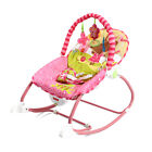 Baby Rocker Bouncer Reclining Chair Swing Vibration Music Toys Infant Toddler