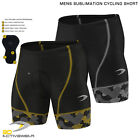 Activewear Mens Padded Cycling Short Bike Short Sublimation Knicks Half Tight