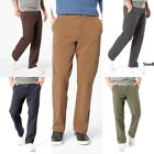 Mens Dockers Smart 360 FLEX Straight-Fit Downtime Khaki Pants D2 Variety Sizes