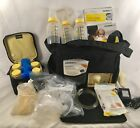 Medela Pump in Style Advance w/ On the Go Tote   EXTRAS Included + Nursing Cover