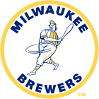 Milwaukee Brewers vinyl sticker for skateboard luggage laptop tumblers  (j) on Ebay