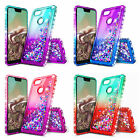 For Google Pixel / Pixel XL Case | Liquid Glitter Bling Cover + Screen Protector