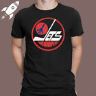 WINNIPEG JETS 80'S NHL RETRO LOGO MEN'S BLACK T-SHIRT SIZE S M L XL 2XL 3XL $15.29 USD on eBay