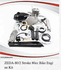 Zeda 80CC Bicycle Engine Kit, 8mm Mounting Bolts 36 or 44 tooth Rear Sprocket