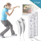 iNNEXT Built in Motion Plus Remote Gesture Controller + Nunchuck For Wii US SHIP