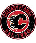 Calgary Flames Sticker for skateboard luggage laptop tumblers car k $7.99 USD on eBay