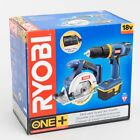 Внешний вид - New Ryobi One System 18V Cordless Drill & Circular Saw Combo with Charger in Box