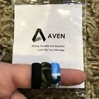 Aven Brand Mens 3 Pack Silicone Bands, Rings Size 12, New In Box!