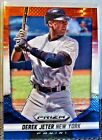DERK  JETER  TWO  COLLECTIBLE REFRACTOR CARDS